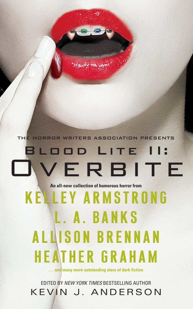 """""""Blood Lite II - Overbite"""" edited by Kevin J. Anderson."""