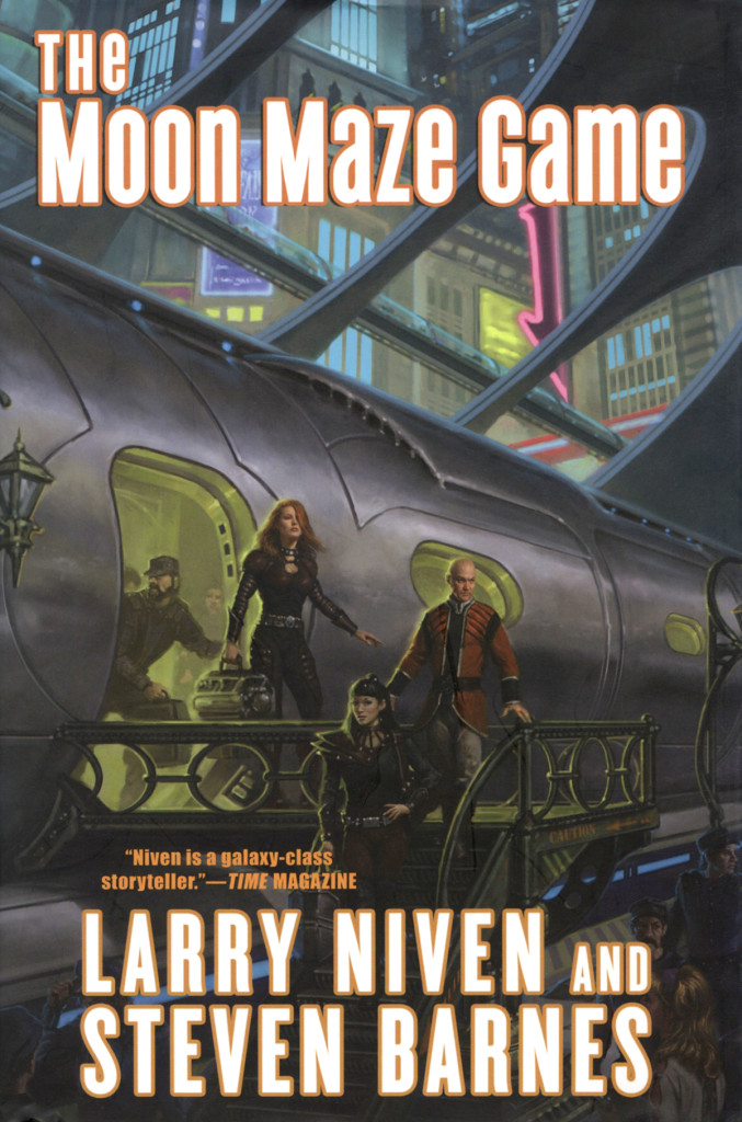 """The Moon Maze Game"" by Larry Niven and Steven Barnes."