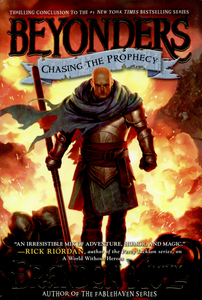 """""""Chasing the Prophecy"""" by Brandon Mull."""