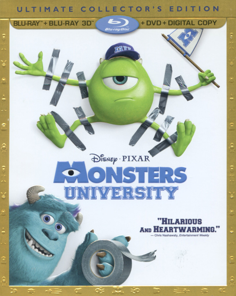 """Monsters University""."