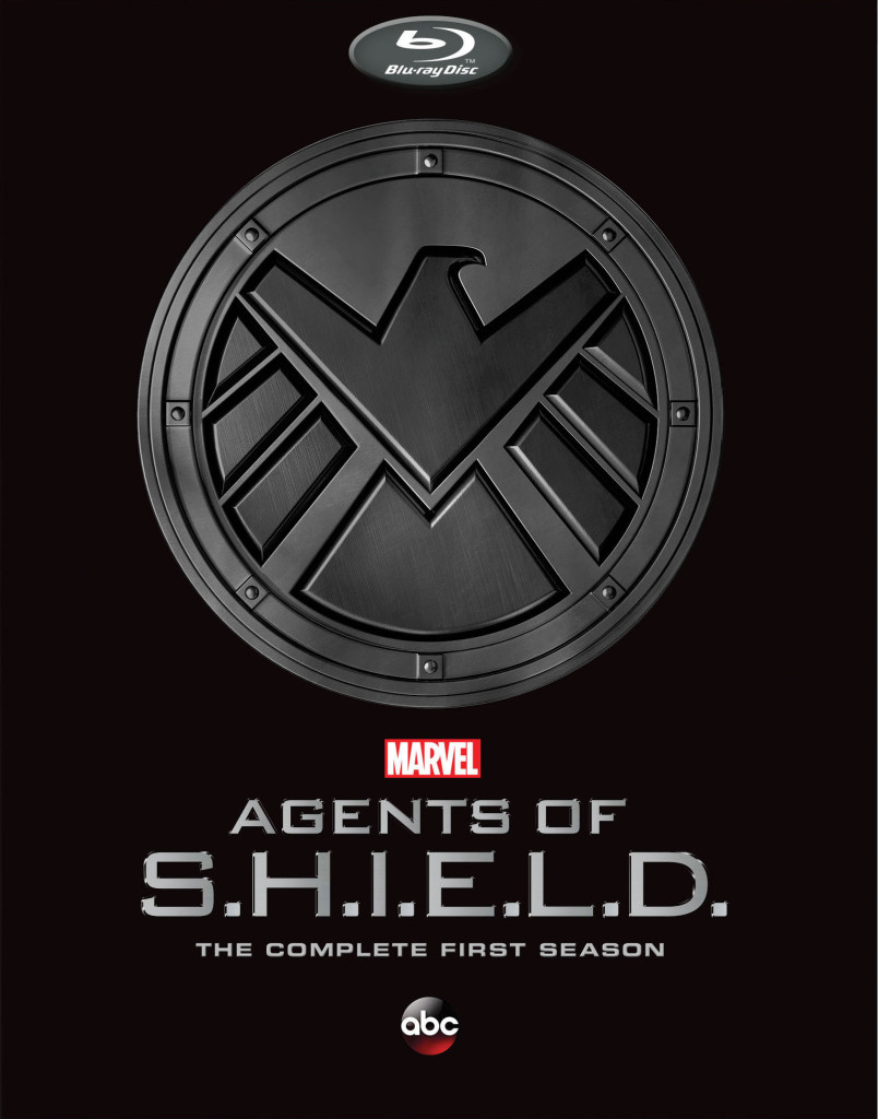 """Agents of SHIELD"" Complete First Season bluray."