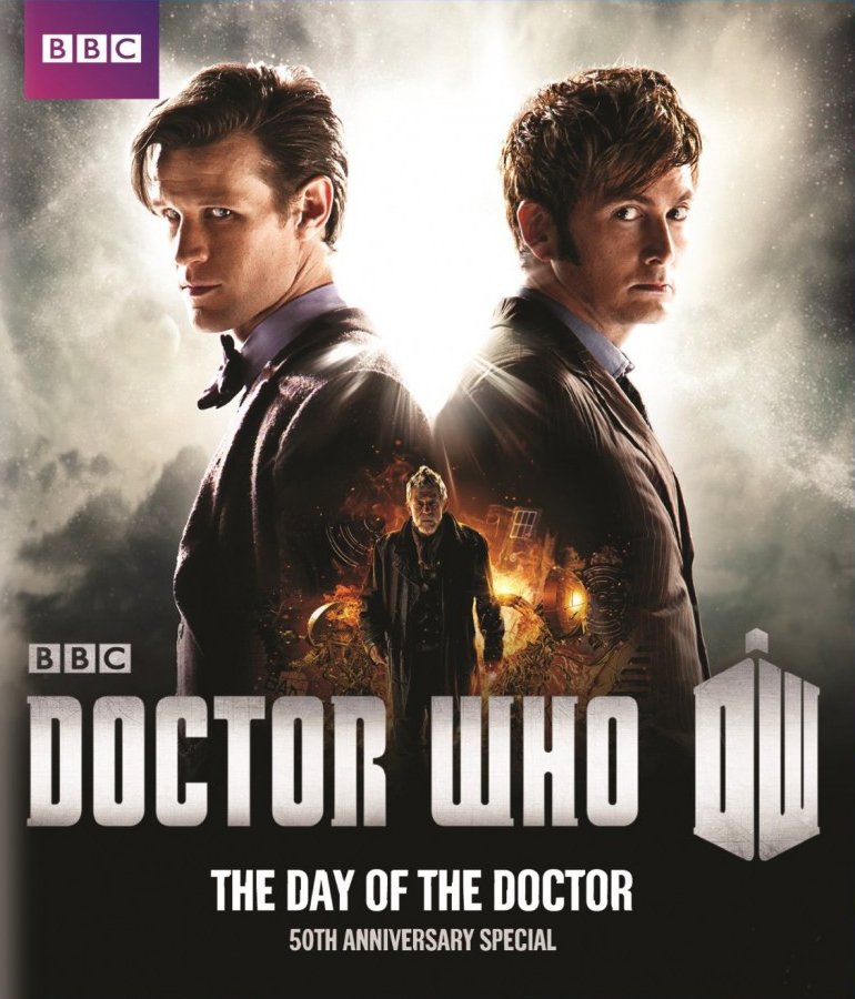 """Doctor Who - The Day of the Doctor"" - bluray."