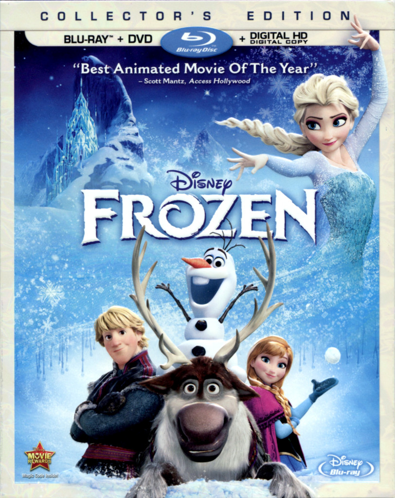"""Frozen"" bluray."