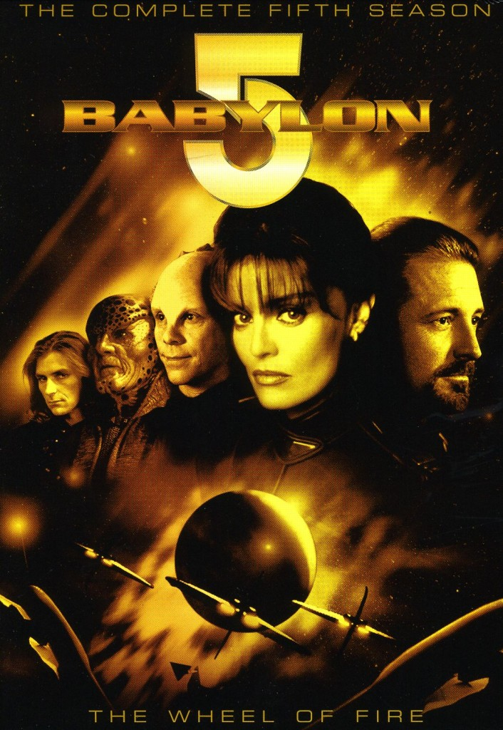 """""""Babylon 5"""" - The Complete Fifth Season - The Wheel of Fire."""