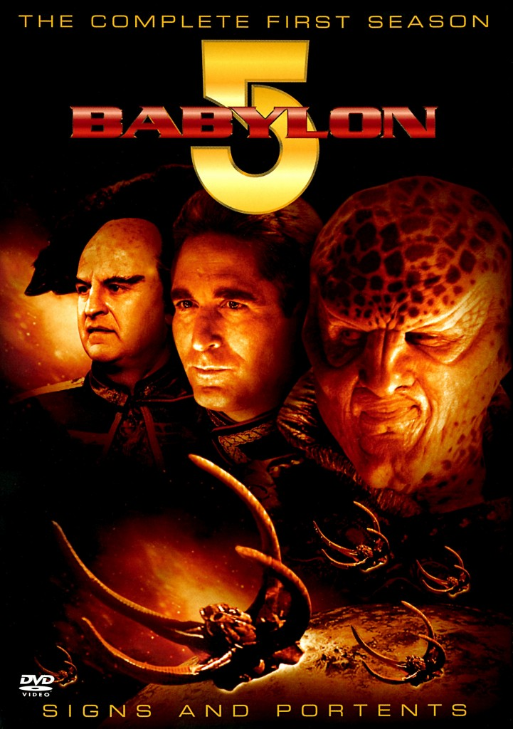 """""""Babylon 5"""" - The Complete First Season - Signs and Portents."""