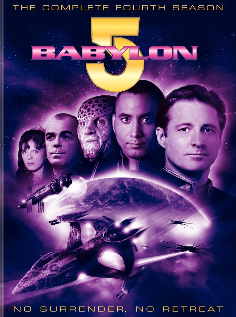 """Babylon 5"" - The Complete Fourth Season - No Surrender No Retreat."