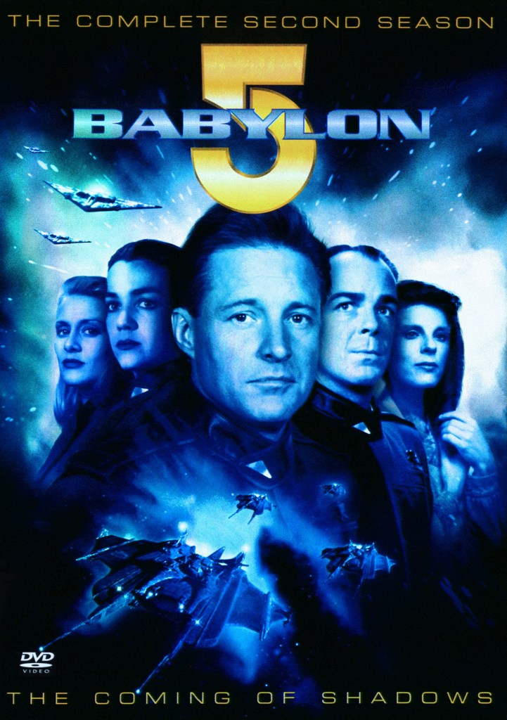"""""""Babylon 5"""" - The Complete Second Season - The Coming of Shadows."""