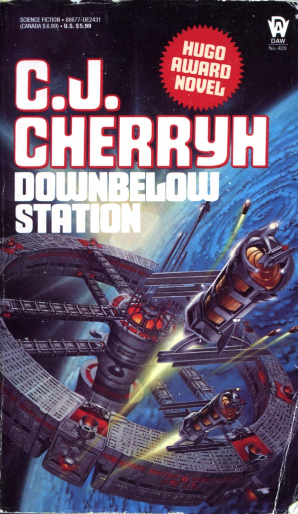 """Downbelow Station"" by CJ Cherryh."