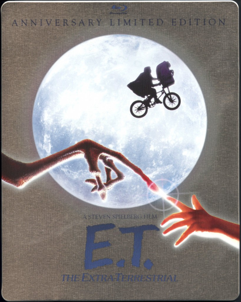 """E.T.: The Extra Terrestrial"" Anniversary Edition Bluray Steelcase."