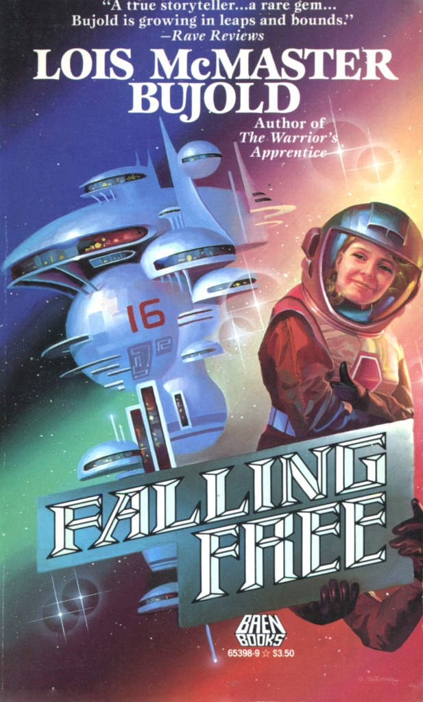 """""""Falling Free"""" by Lois McMaster Bujold."""