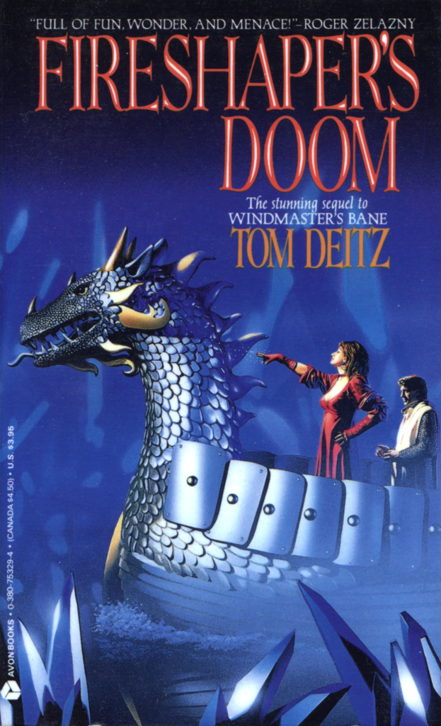 """Fireshaper's Doom"" by Tom Deitz."