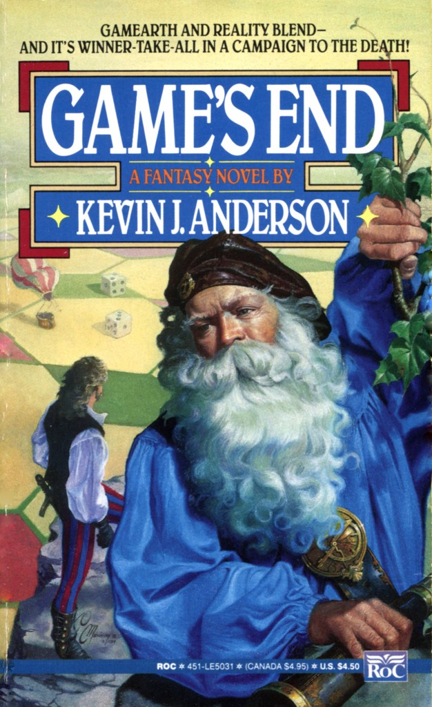 """""""Game's End"""" by Kevin J Anderson."""