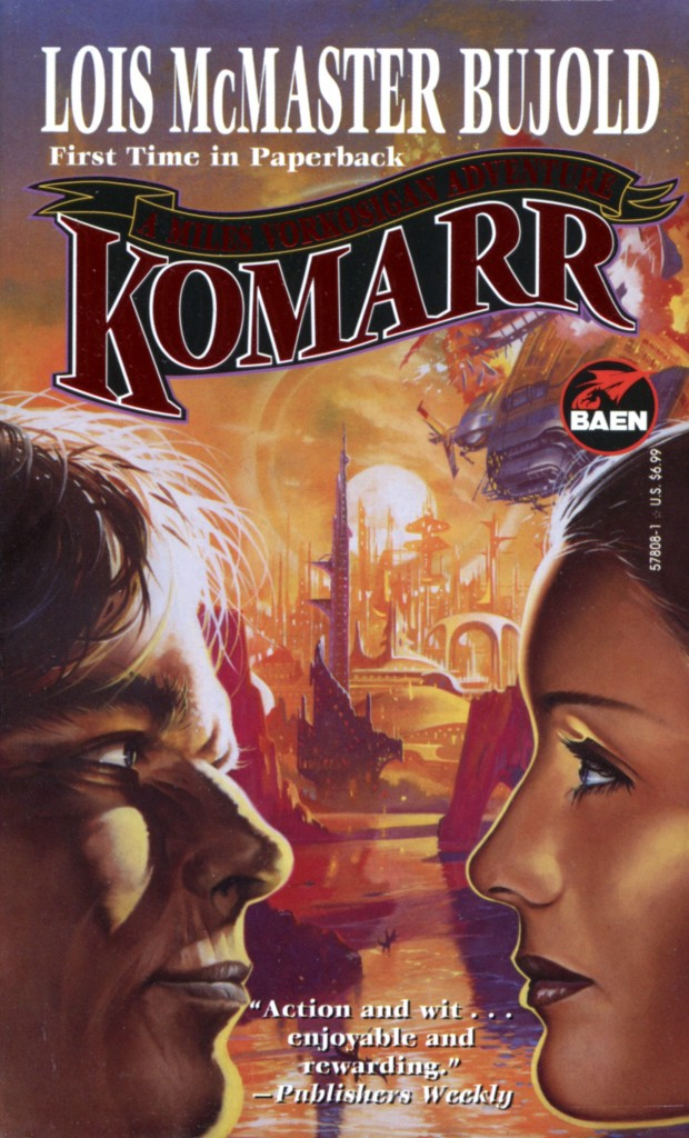 """""""Komarr"""" by Lois McMaster Bujold."""