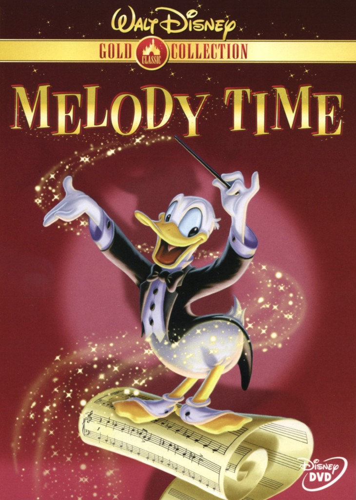 """Melody Time"" DVD."