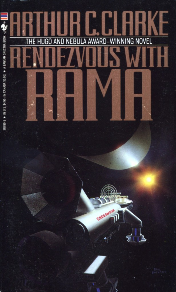 """""""Rendezvous with Rama"""" by Arthur C Clarke."""
