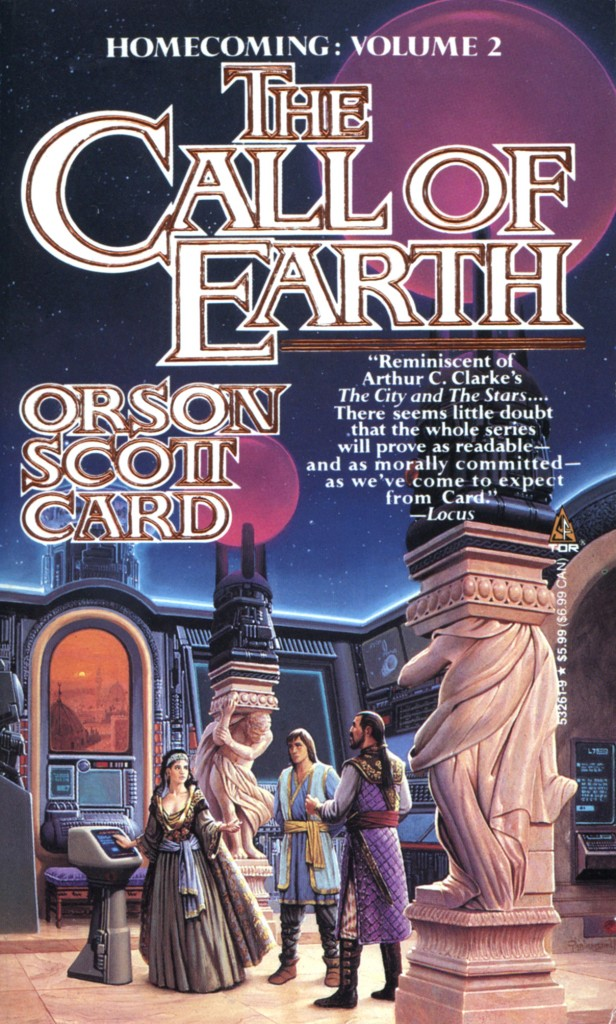 """The Call of Earth"" by Orson Scott Card."