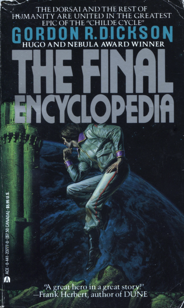 """The Final Encyclopedia"" by Gordon R Dickson."
