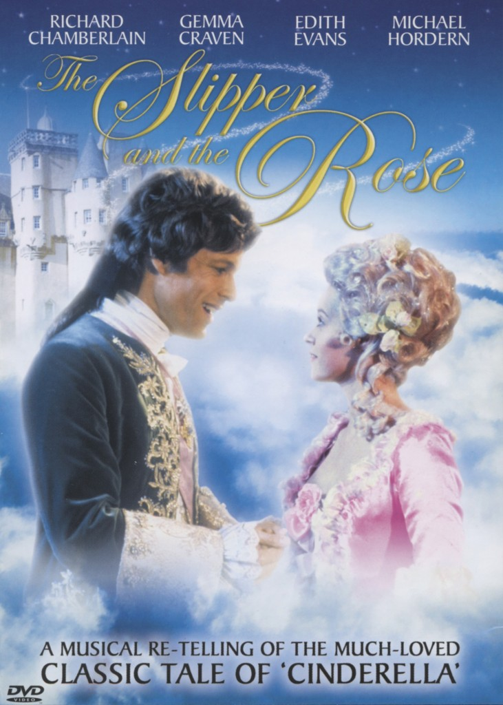 """The Slipper and the Rose"" DVD cover."