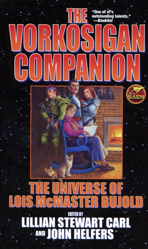 """The Vorkosigan Companion - The Universe of Lois McMaster Bujold"" edited by Lillian Stewart Carl and John Helfers."