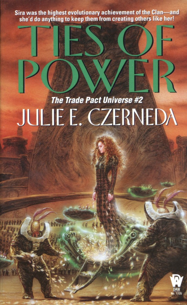 """Ties of Power"" by Julie E. Czerneda."