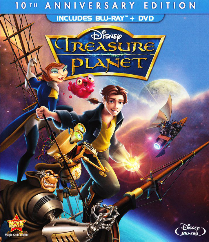 """Treasure Planet"" 10th Anniversary Edition Bluray."