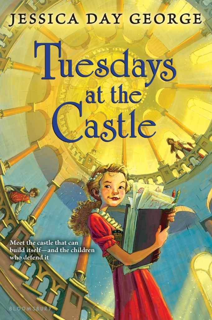 """""""Tuesdays at the Castle"""" by Jessica Day George."""