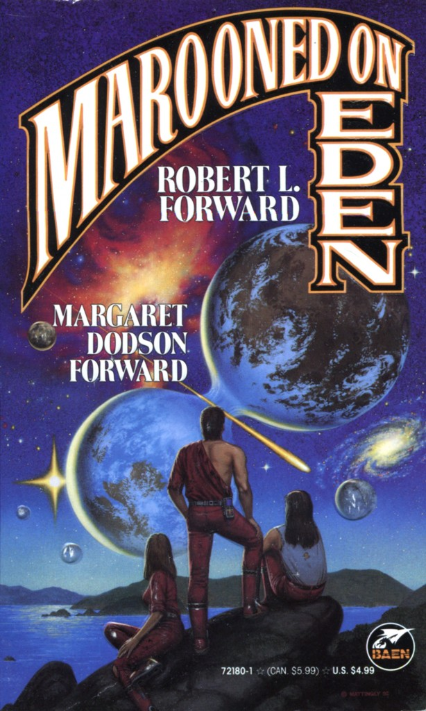 """""""Marooned on Eden"""" by Robert L. Forward and Martha Dodson Forward."""