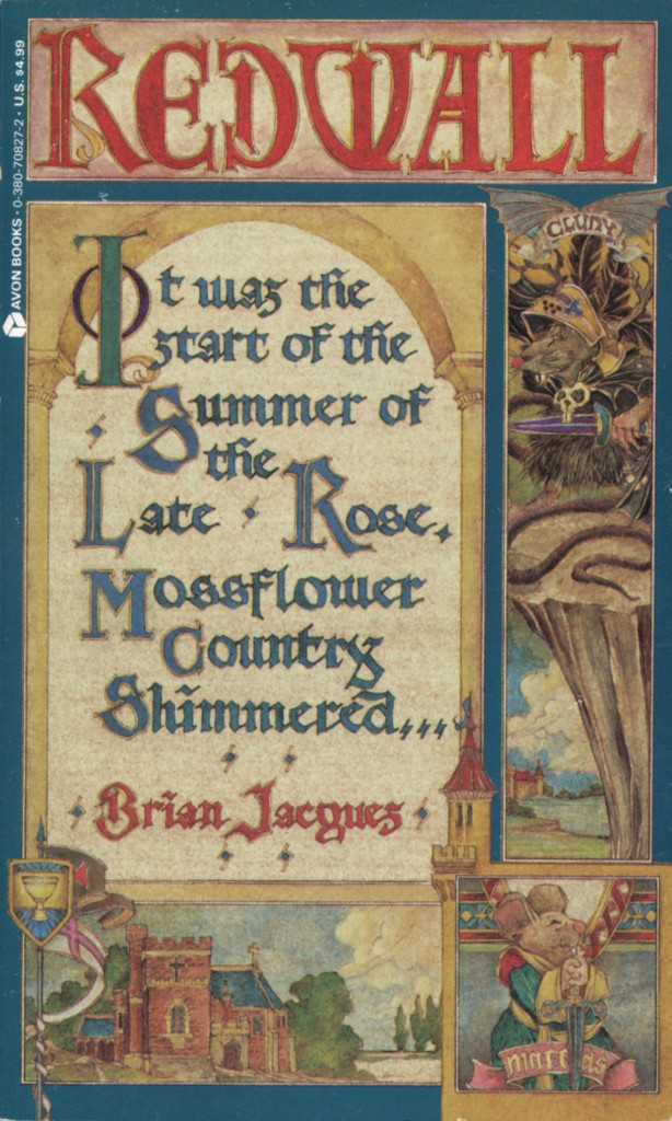 """""""Redwall"""" by Brian Jacques."""