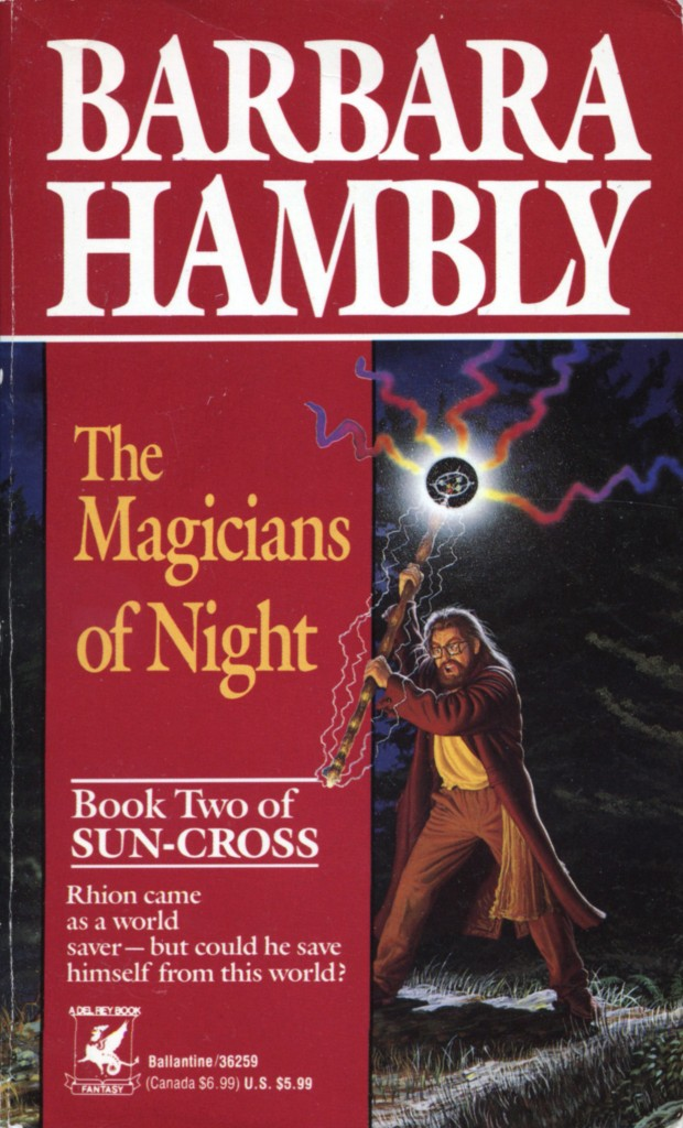 """The Magicians of Night"" by Barbara Hambly."