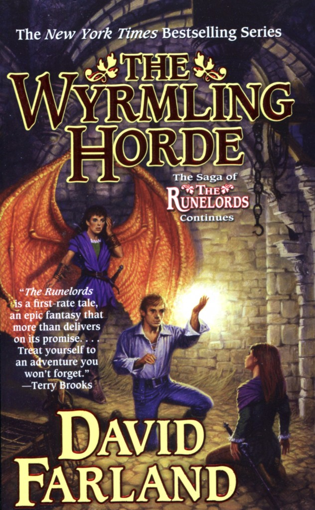 """The Wyrmling Horde"" by David Farland."