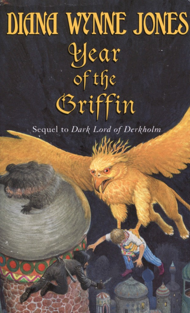 """""""Year of the Griffin"""" by Diana Wynne Jones."""