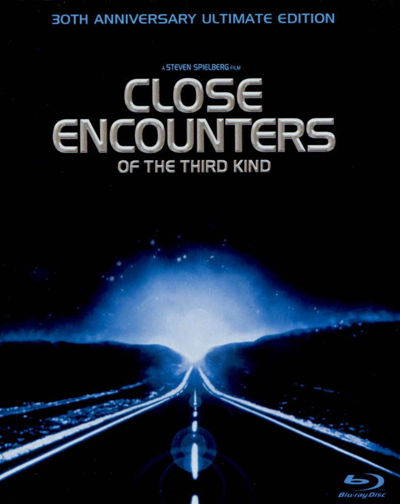 """Close Encounters of the Third Kind"" - Blu-ray cover."
