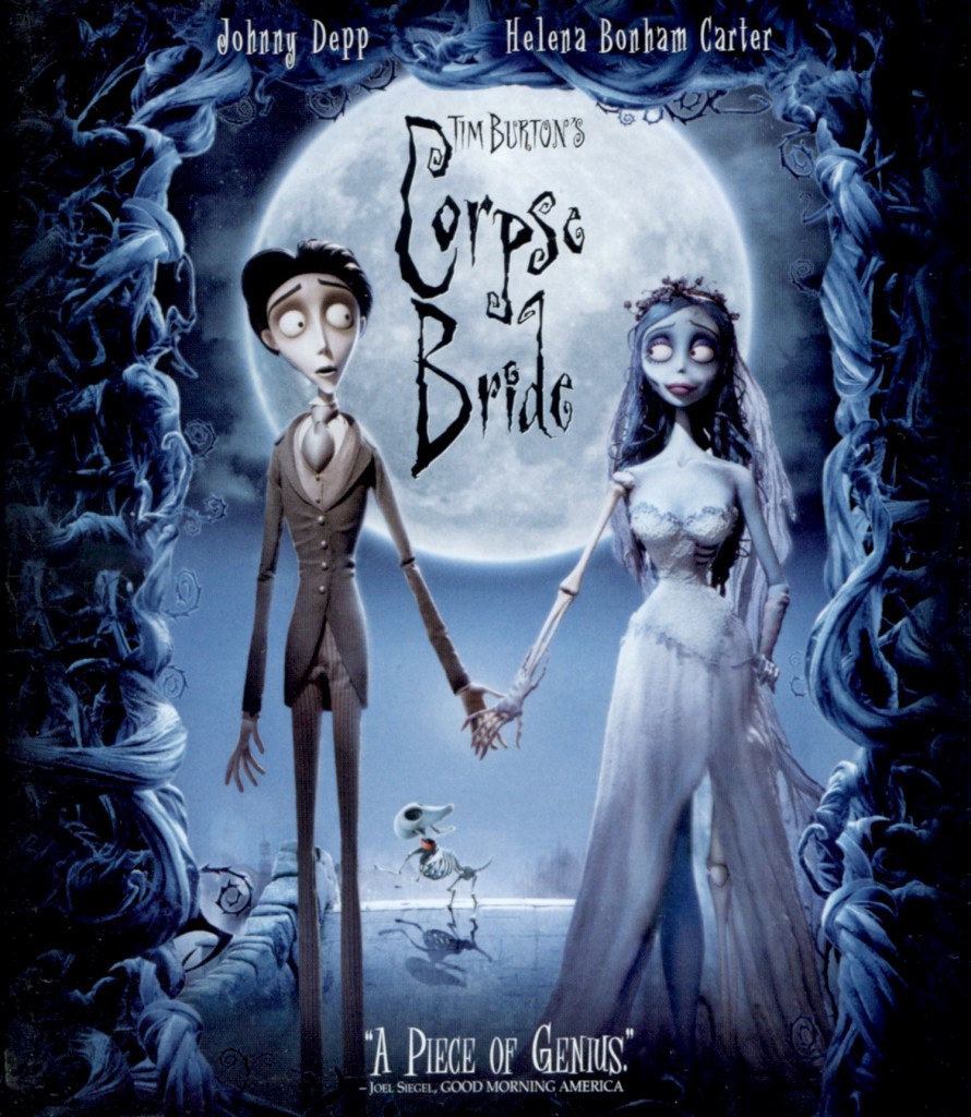 """Corpse Bride"" - Blu-ray cover."