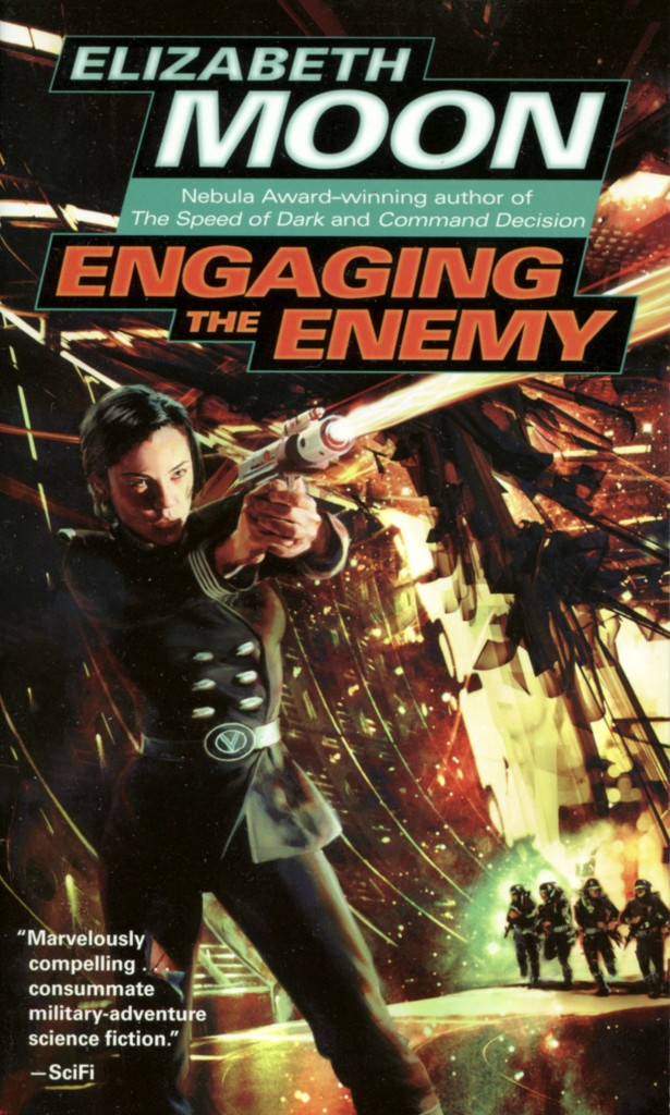 """Engaging the Enemy"" by Elizabeth Moon."