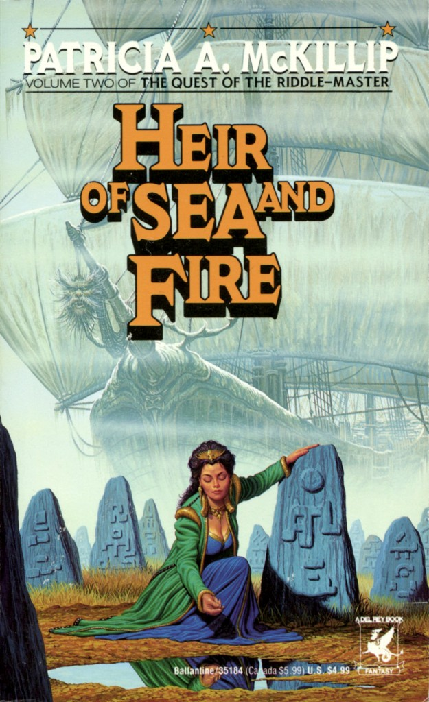 """Heir of Sea and Fire"" by Patricia A. McKillip."