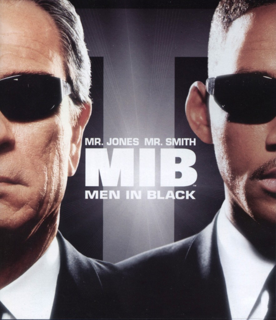 """Men in Black""."