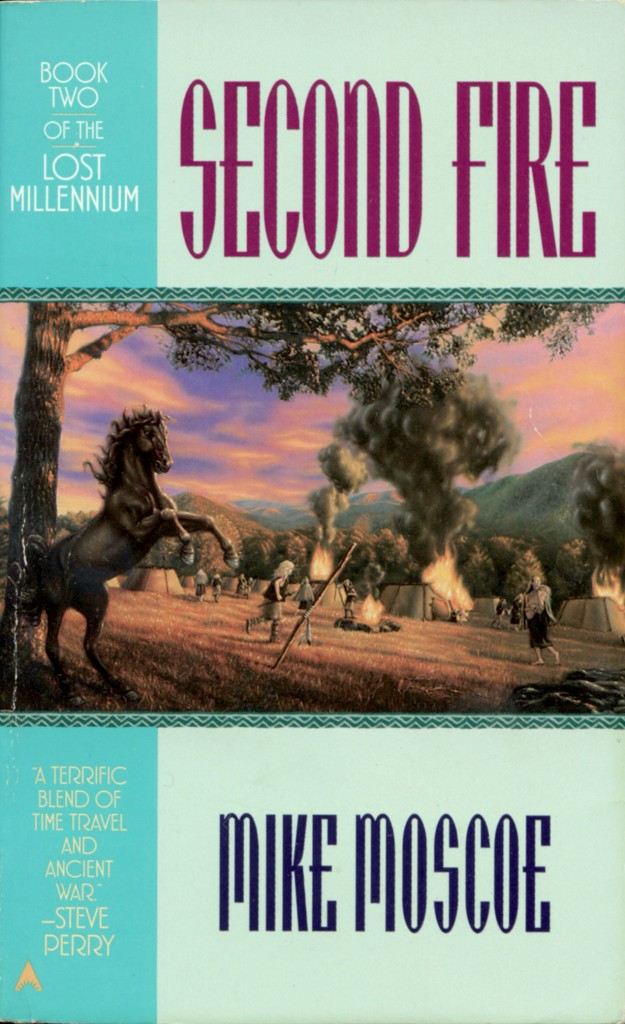 """""""Second Fire"""" by Mike Moscoe."""