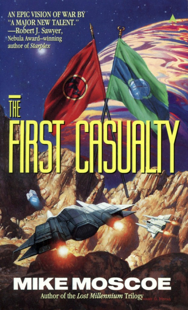 """""""The First Casualty"""" by Mike Moscoe."""