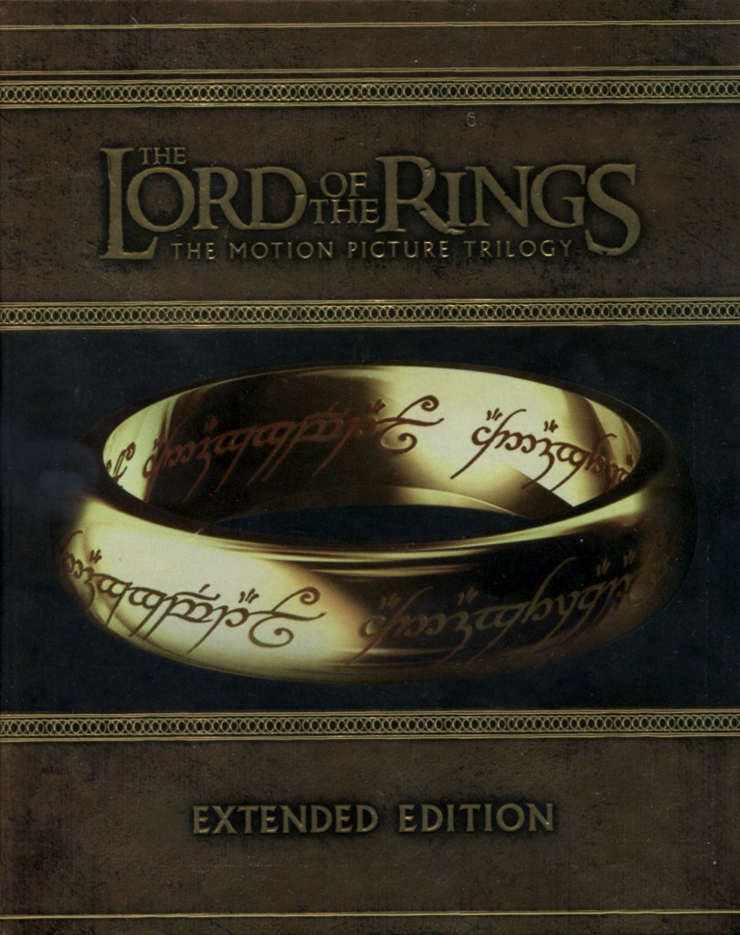 """The Lord of the Rings"" trilogy (extended editions)."