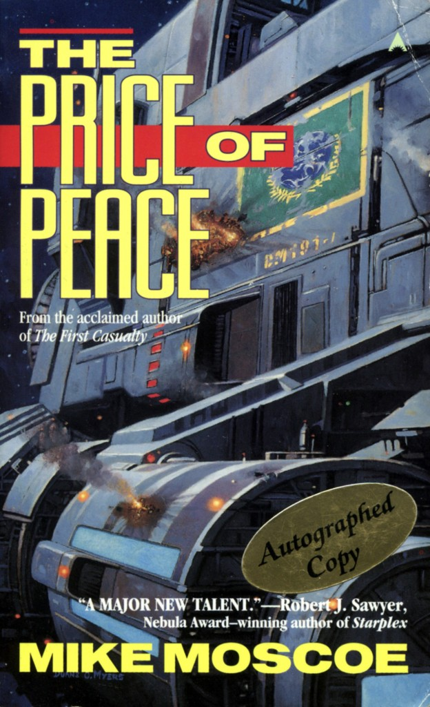 """""""The Price of Peace"""" by Mike Moscoe."""