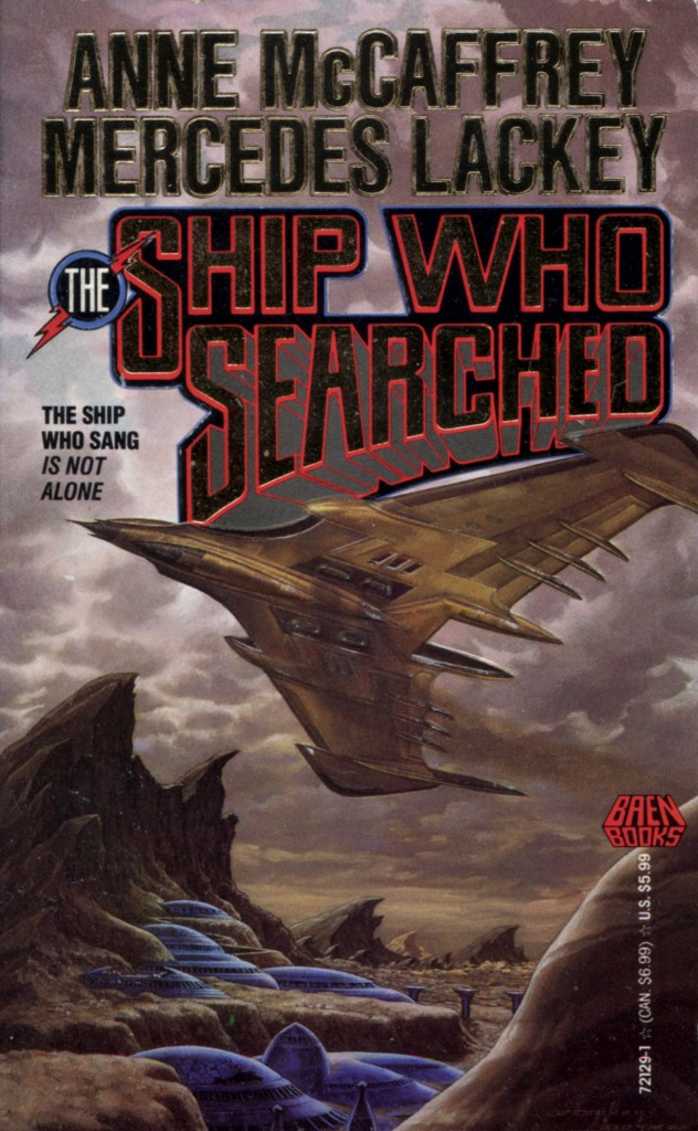 """The Ship Who Searched"" by Anne McCaffrey and Mercedes Lackey."