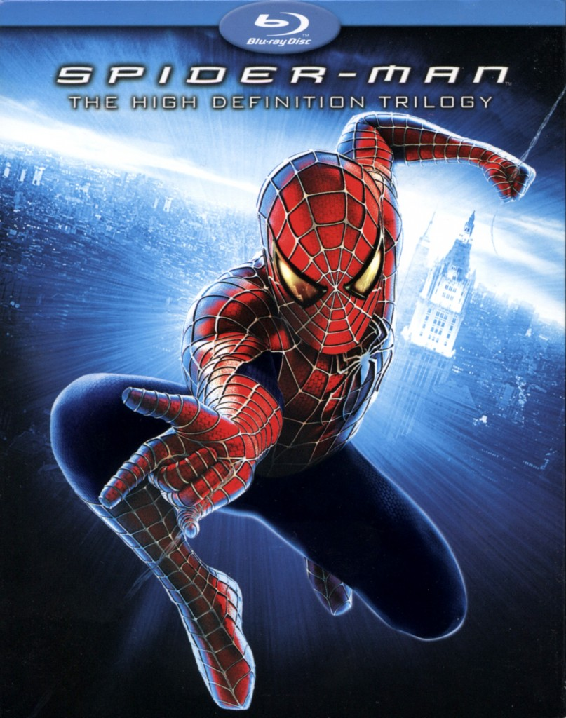 """Spider-Man - The High Definition Trilogy""."