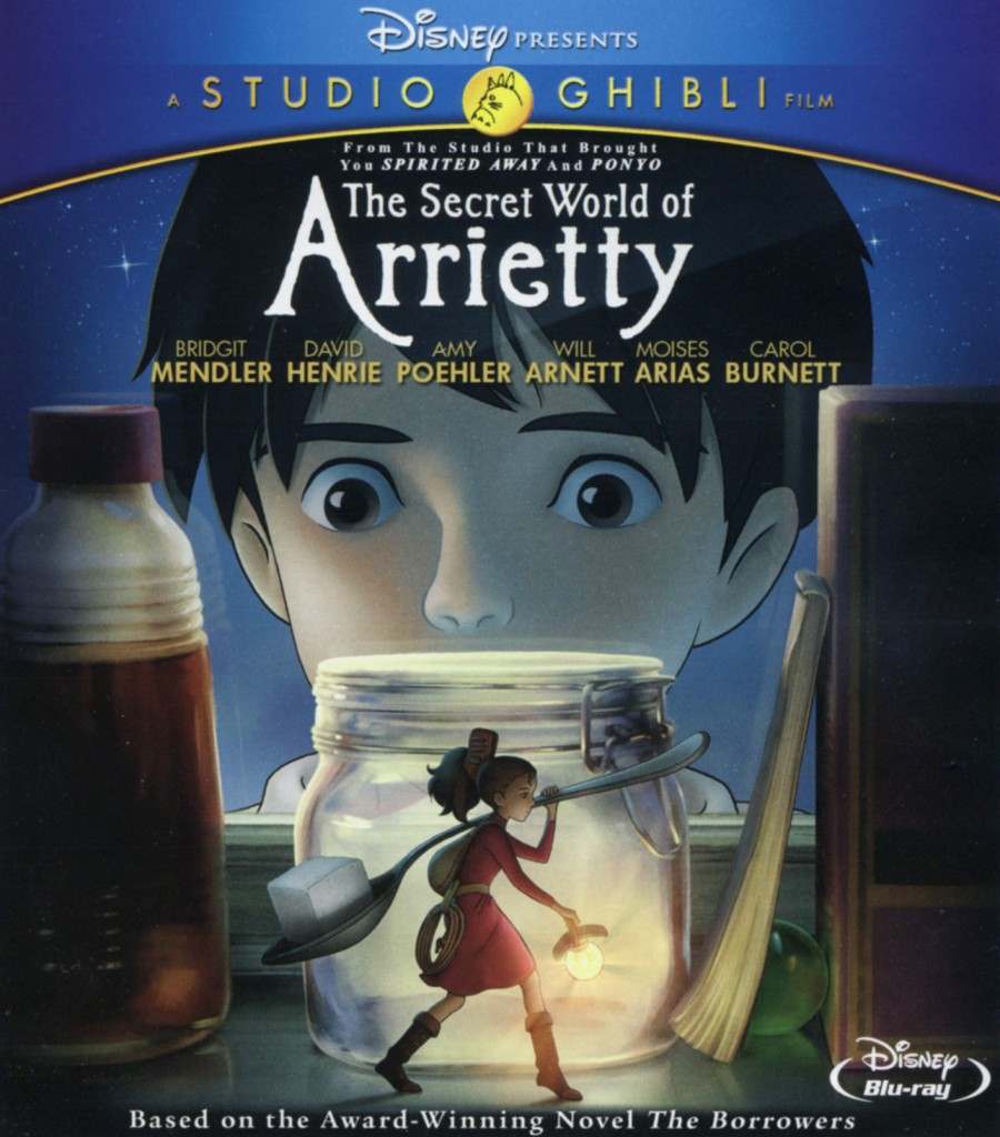 """The Secret World of Arrietty""."