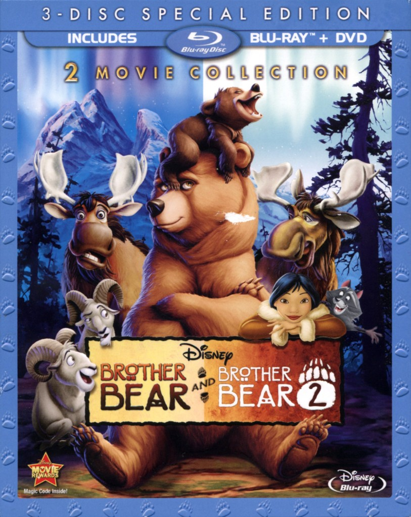 """Brother Bear"" and ""Brother Bear 2"" collection."