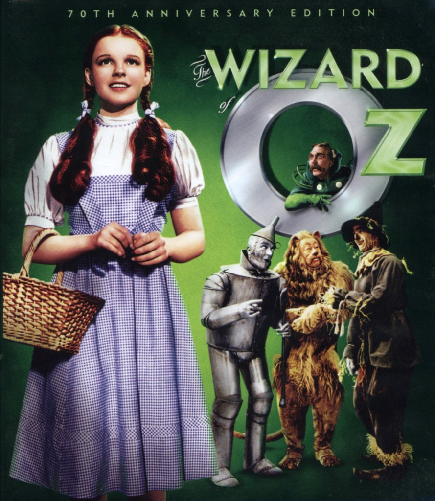 """""""The Wizard of Oz"""" - 70th anniversary edition."""