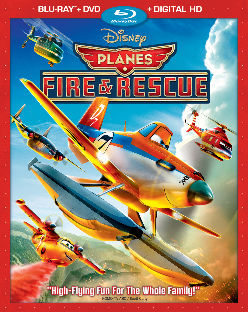 """Planes - Fire & Rescue"" bluray."