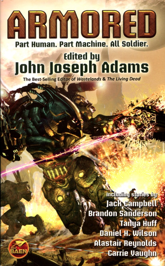 """Armored"" edited by John Joseph Adams."