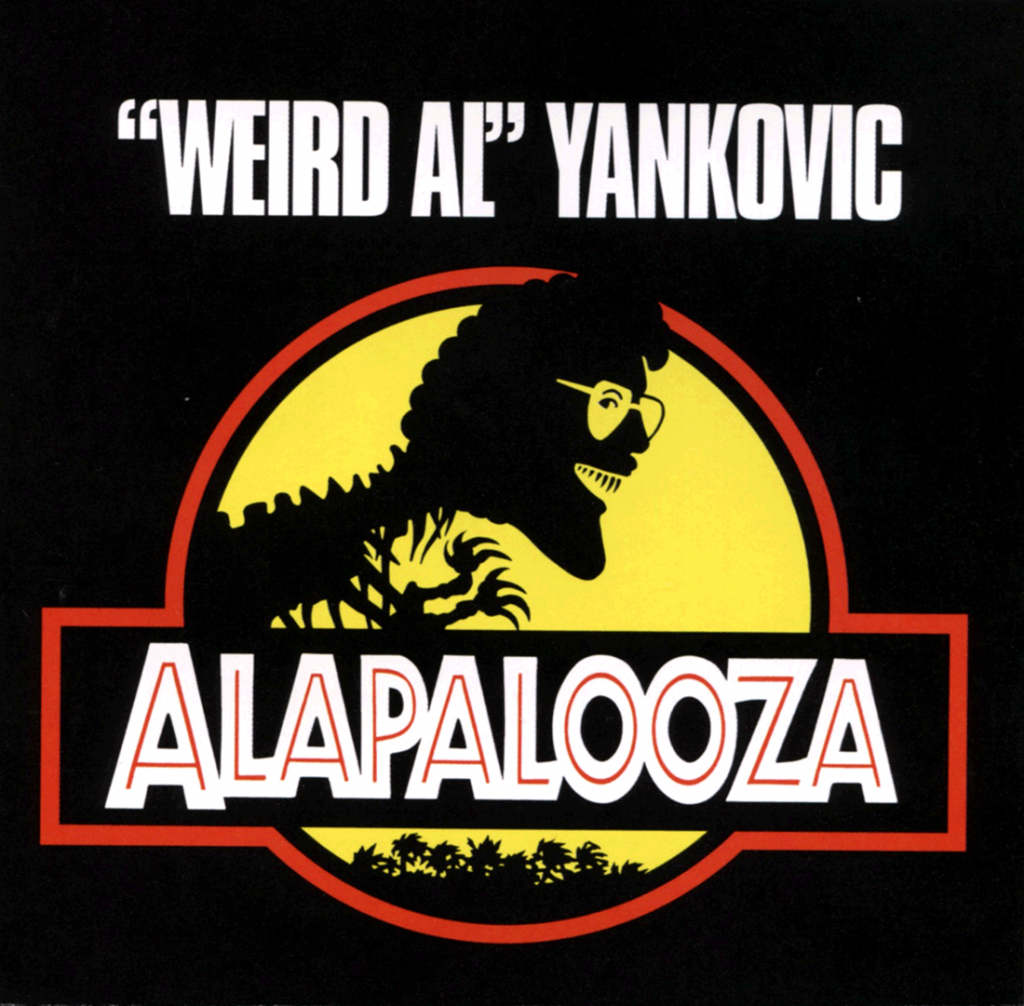 "Cover of ""Alapalooza"" by Weird Al Yankovic."
