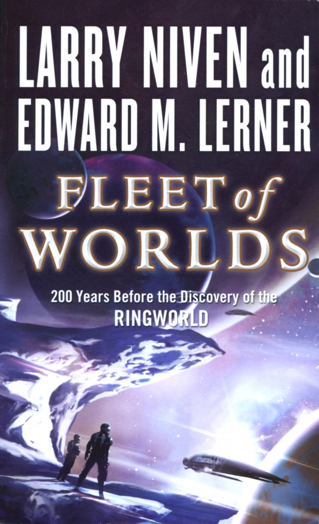 """Fleet of Worlds"" by Larry Niven and Edward M. Lerner."
