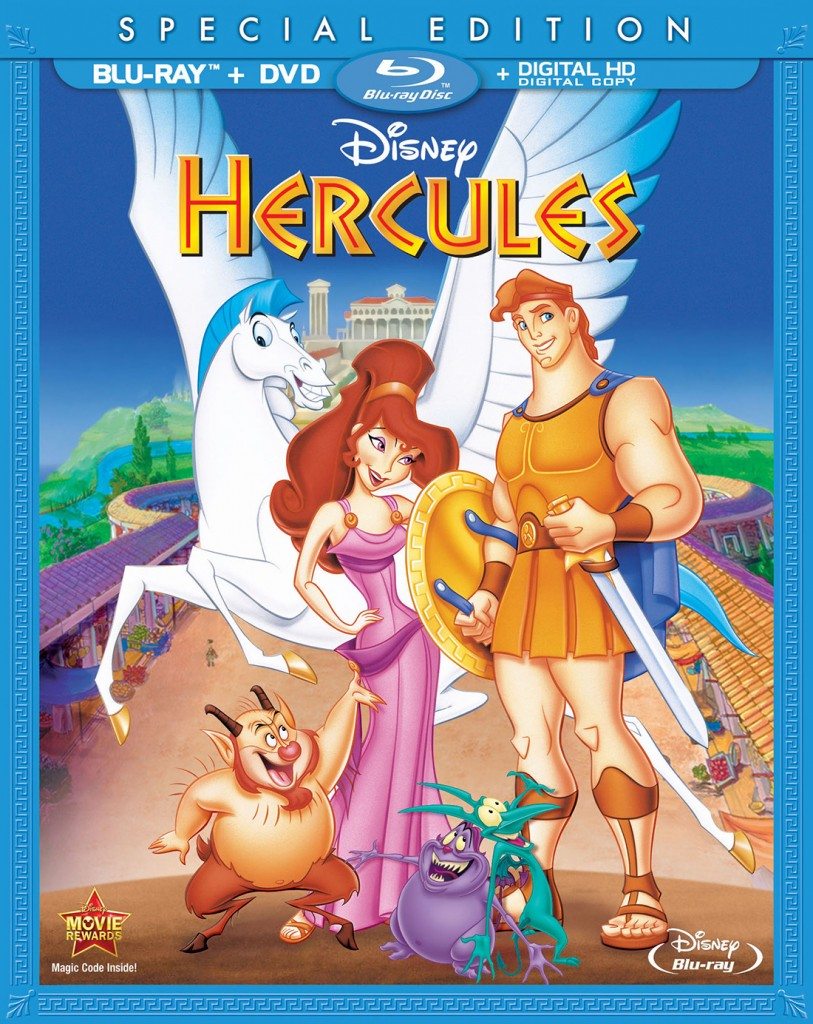 "Cover of ""Hercules"" special edition."